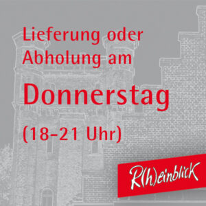 Donnerstag, 6. Mai